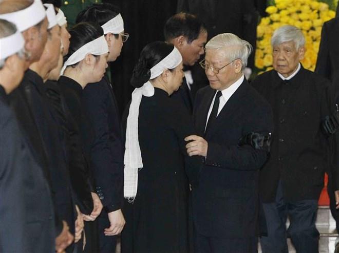 Lễ viếng Chủ tịch nước Trần Đại Quang - Ảnh 36