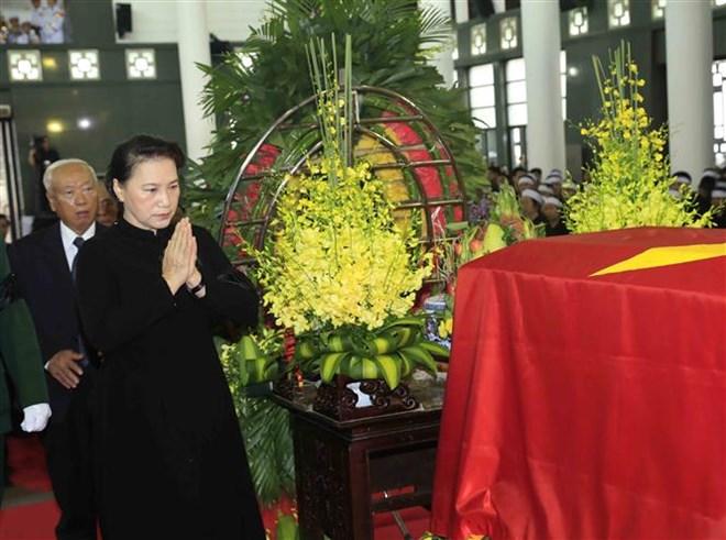 Lễ viếng Chủ tịch nước Trần Đại Quang - Ảnh 66