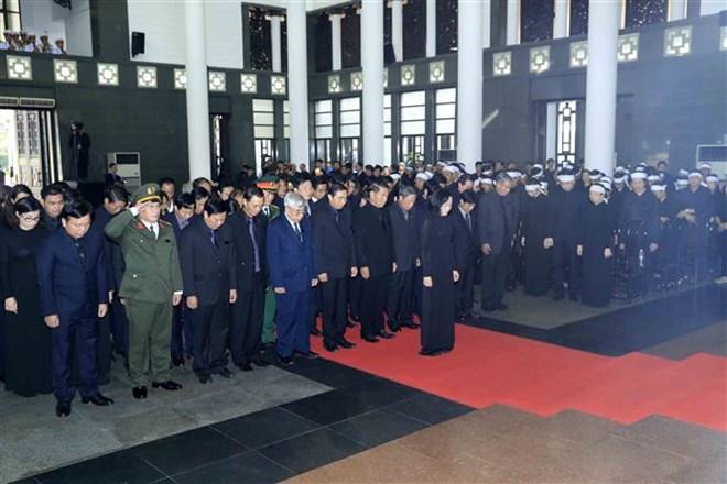 Lễ viếng Chủ tịch nước Trần Đại Quang - Ảnh 50