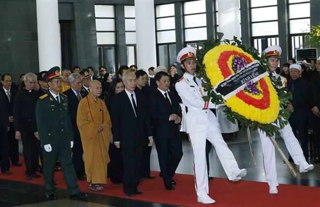 Lễ viếng Chủ tịch nước Trần Đại Quang - Ảnh 46