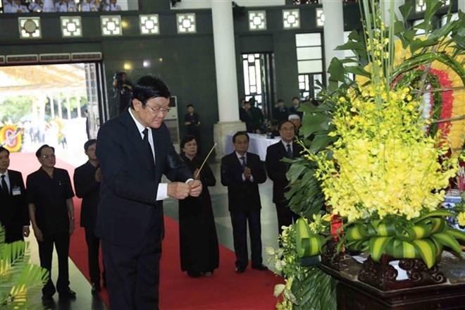 Lễ viếng Chủ tịch nước Trần Đại Quang - Ảnh 37