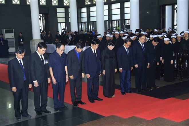 Lễ viếng Chủ tịch nước Trần Đại Quang - Ảnh 38