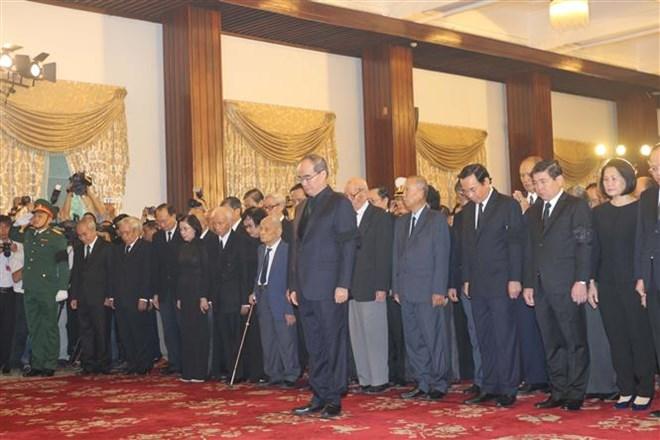 Lễ viếng Chủ tịch nước Trần Đại Quang - Ảnh 53