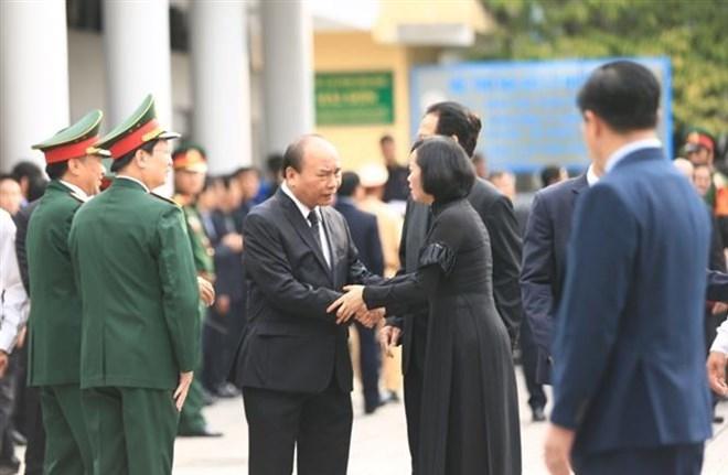 Lễ viếng Chủ tịch nước Trần Đại Quang - Ảnh 64