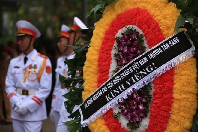 Lễ viếng Chủ tịch nước Trần Đại Quang - Ảnh 61