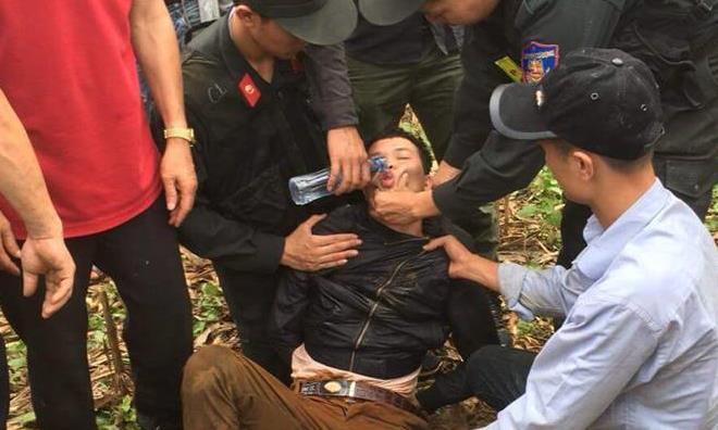 Vụ tài xế xe ôm bị sát hại ở Sơn La: Nghi phạm bị bắt trong tình trạng kiệt sức rồi ngất - Ảnh 1