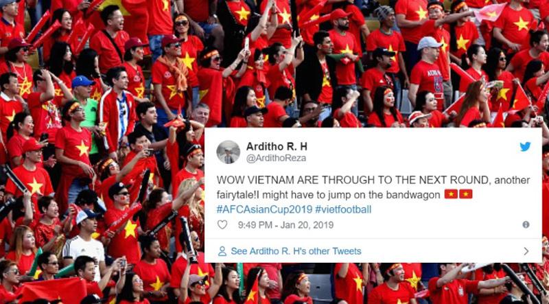 """CĐV châu Á: """"Cứ đá thế này, chưa biết chừng Việt Nam có thể vô địch Asian Cup"""" - Ảnh 2"""