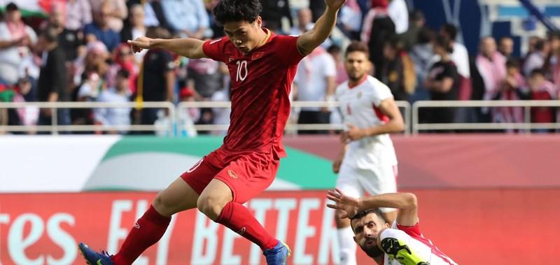 """Siêu phẩm """"xé lưới"""" Jordan của Công Phượng áp đảo giải bàn thắng đẹp nhất vòng 1/8 Asian Cup - Ảnh 1"""
