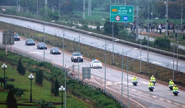 Hôm nay (2/3), cấm phương tiện trên quốc lộ 1 Hà Nội - Lạng Sơn - Ảnh 1