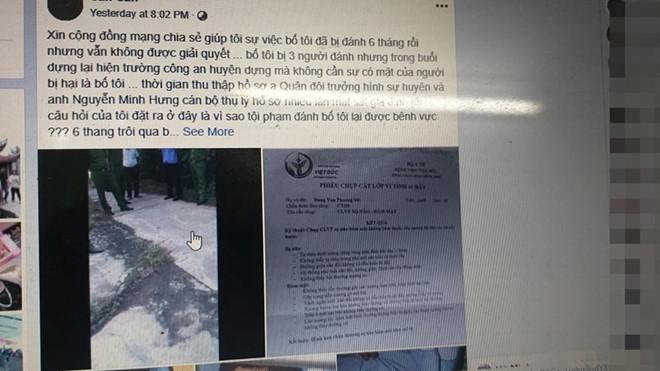 """Hải Phòng xác minh cán bộ công an huyện bị tố dọa """"tát vỡ mồm"""" người dân - Ảnh 1"""