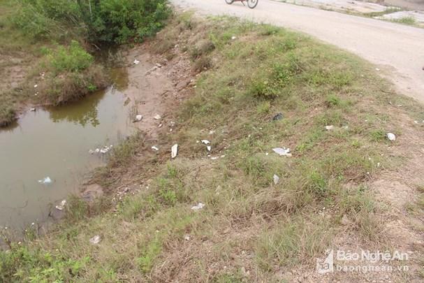 Phát hiện hàng chục bao tải chứa gần 1 tấn nghi ma túy bỏ giữa đồng muối - Ảnh 2