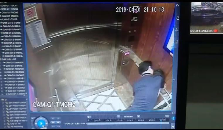 Nghi án bé gái bị sàm sỡ trong thang máy: Bảo vệ bất ngờ và sốc khi xem camera an ninh - Ảnh 1