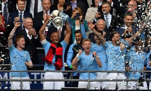 Đè bẹp Watford 6-0 ở chung kết, Man City xuất sắc vô địch FA Cup - Ảnh 1