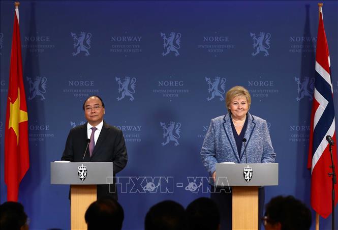 Việt Nam - Na Uy cam kết sớm ký kết Hiệp định thương mại tự do song phương - Ảnh 1
