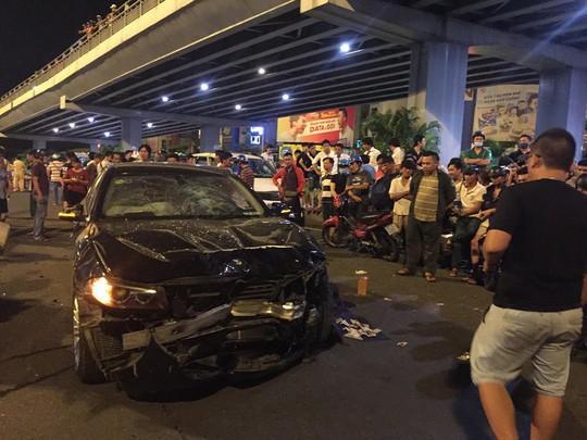 Bất ngờ tạm giam nữ tài xế BMW gây tai nạn liên hoàn ở ngã tư Hàng Xanh - Ảnh 1
