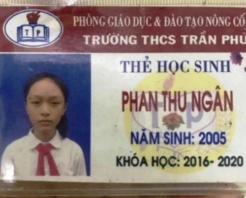 Phát hiện manh mối đầu tiên vụ nữ sinh lớp 8 ở Thanh Hóa mất tích bí ẩn - Ảnh 1