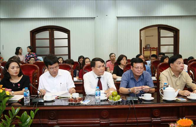 """Ra mắt sách """"Tổng Bí thư, Chủ tịch nước Nguyễn Phú Trọng với tình cảm của nhân dân trong nước và bạn bè quốc tế"""" - Ảnh 5"""