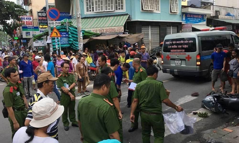 Bỏ mặc nạn nhân sau tai nạn kinh hoàng, tài xế taxi Vinasun bị đình chỉ công việc - Ảnh 1