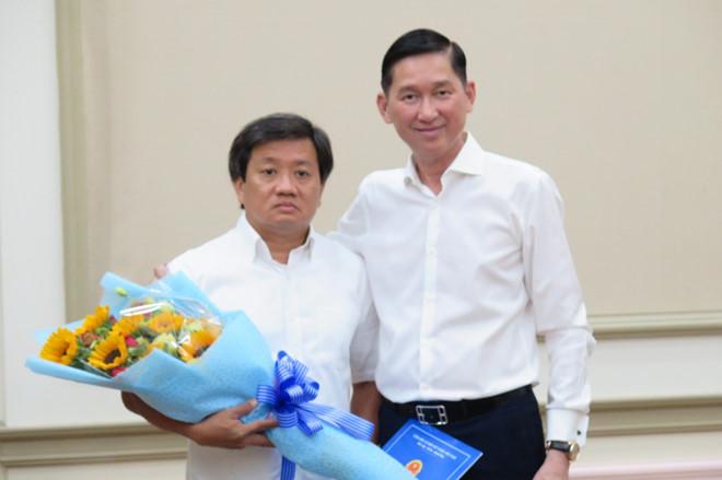 Phó Chủ tịch UBND quận 1 Đoàn Ngọc Hải làm Phó tổng giám đốc Công ty Xây dựng Sài Gòn - Ảnh 1