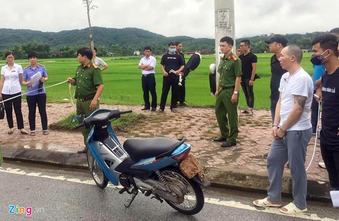 Vụ nữ sinh giao gà bị sát hại ở Điện Biên: Cận cảnh Lường Văn Hùng thực nghiệm hiện trường - Ảnh 2
