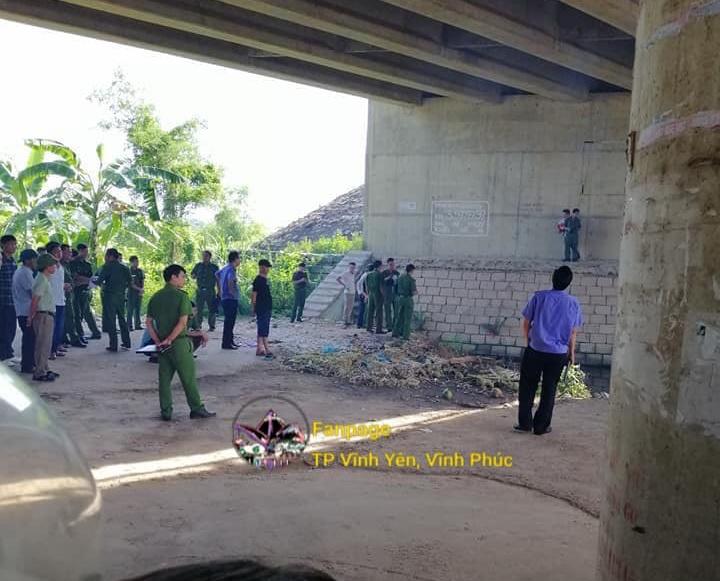Vụ thi thể người đàn ông dưới hố nước ở Vĩnh Phúc: Xác định nguyên nhân tử vong - Ảnh 1