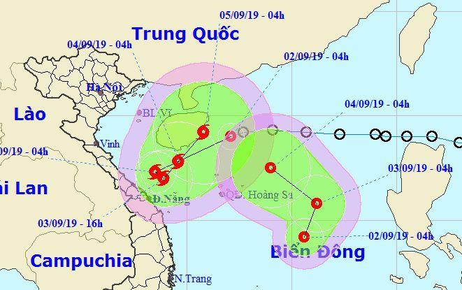 Tin tức mới nhất về 2 áp thấp nhiệt đới hoạt động cùng lúc trên Biển Đông - Ảnh 1