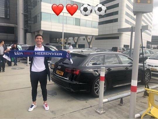 Đoàn Văn Hậu đã có mặt tại Hà Lan ký hợp đồng với CLB Heerenveen - Ảnh 1