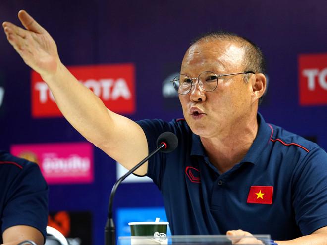 HLV Park Hang-seo chia sẻ bất ngờ về mục tiêu dự World Cup của tuyển Việt Nam - Ảnh 1