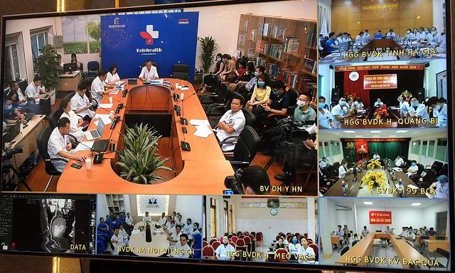 Lễ Khánh thành 1.000 cơ sở y tế khám chữa bệnh từ xa - Ảnh 7