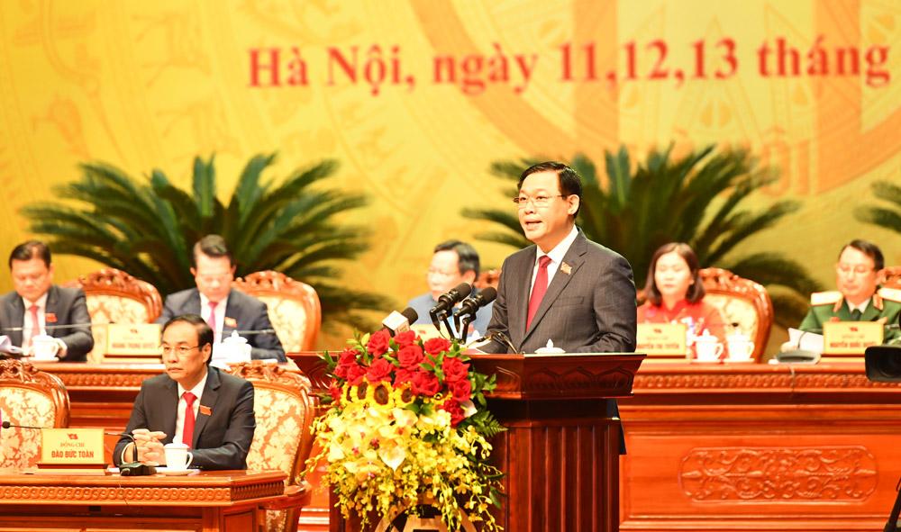 Hôm nay (12/10), Đại hội Đảng bộ TP.Hà Nội chính thức khai mạc - Ảnh 1