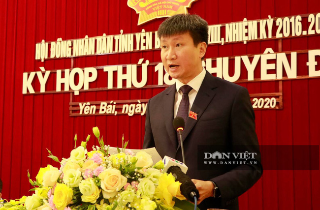 Ông Trần Huy Tuấn được bầu làm Chủ tịch UBND tỉnh Yên Bái - Ảnh 1