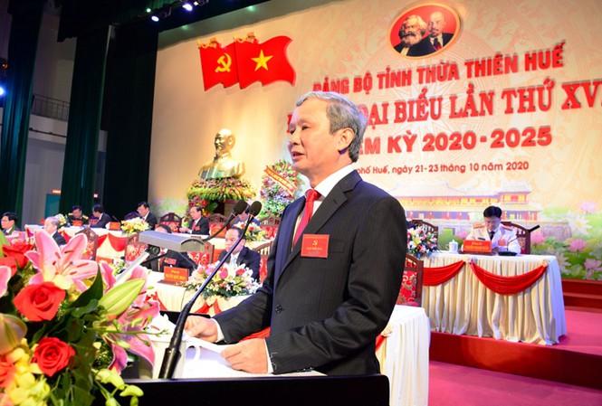Ông Lê Trường Lưu tái đắc cử Bí thư Tỉnh ủy Thừa Thiên-Huế - Ảnh 1