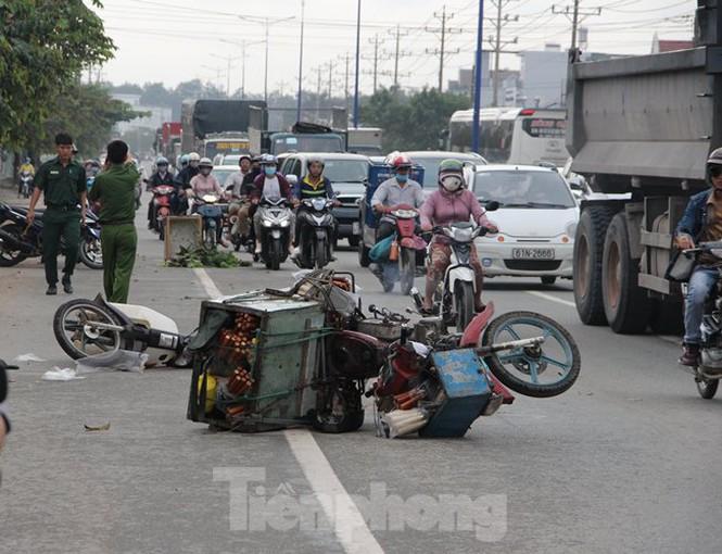 Tin tai nạn giao thông mới nhất ngày 30/10/2020: Ô tô tông xe máy, trung uý công an trọng thương - Ảnh 2