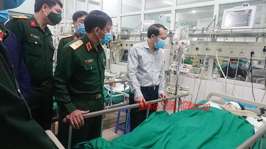 Rà phá bom mìn ở Hà Giang, chiến sĩ công binh hy sinh - Ảnh 1
