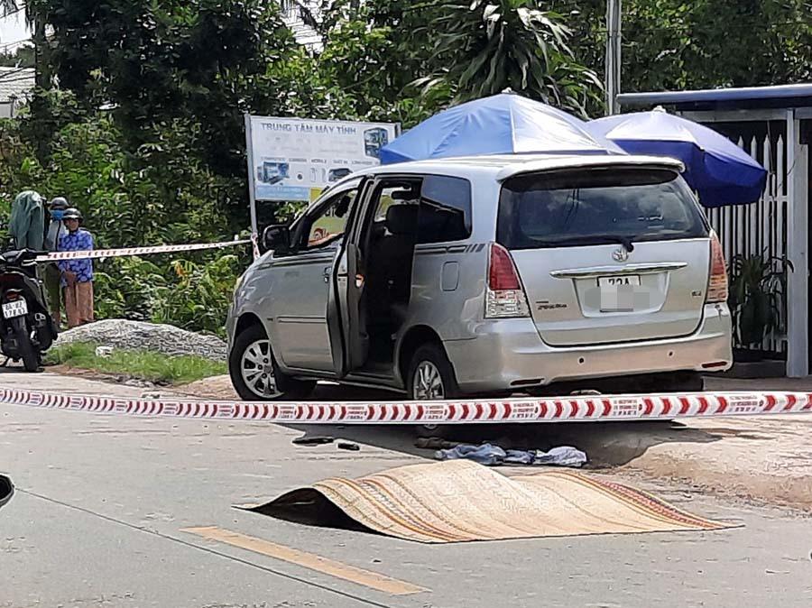 Vụ thi thể người đàn ông cạnh ôtô đang nổ máy: Người dân sống gần hiện trường nói gì? - Ảnh 1