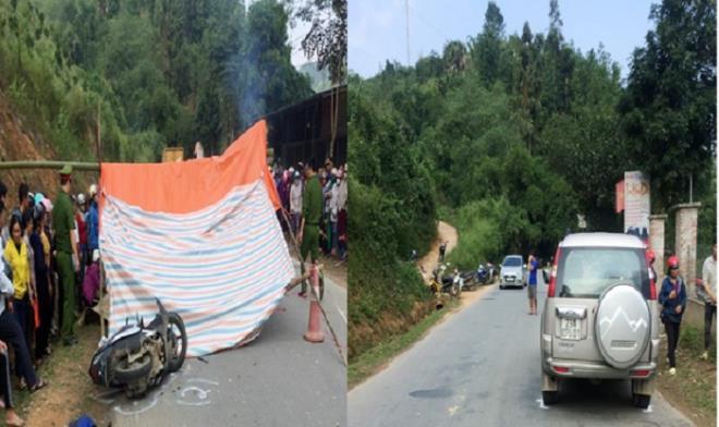 Tin tức tai nạn giao thông ngày 25/11: Ford Everest vượt xe đầu kéo, tông chết 2 phụ nữ đi xe máy ở Hà Giang - Ảnh 1