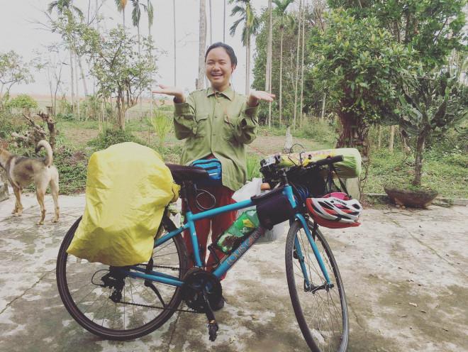 Hé lộ hành trình xuyên Việt bằng xe đạp của 9X Hà thành và chuyện đối phó khi bị gạ tình - Ảnh 2