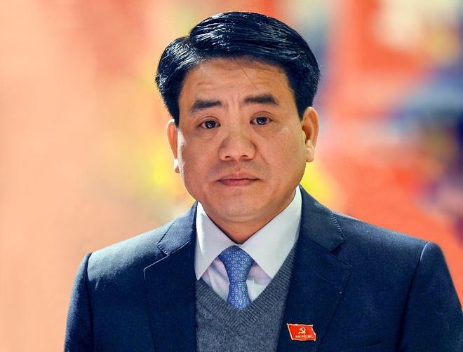 Cựu Chủ tịch Hà Nội Nguyễn Đức Chung bị khai trừ khỏi Đảng - Ảnh 1
