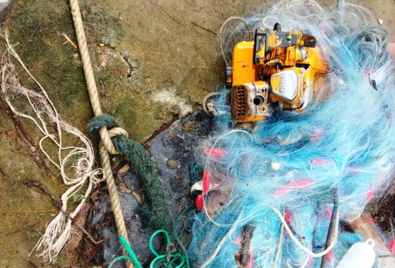 Vụ lật thuyền thúng trên sông Thu Bồn: Tìm thấy thi thể 2 anh em - Ảnh 2