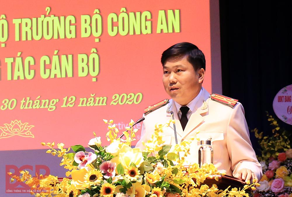 Tân Phó Giám đốc Công an tỉnh Bắc Giang vừa được bổ nhiệm là ai? - Ảnh 1