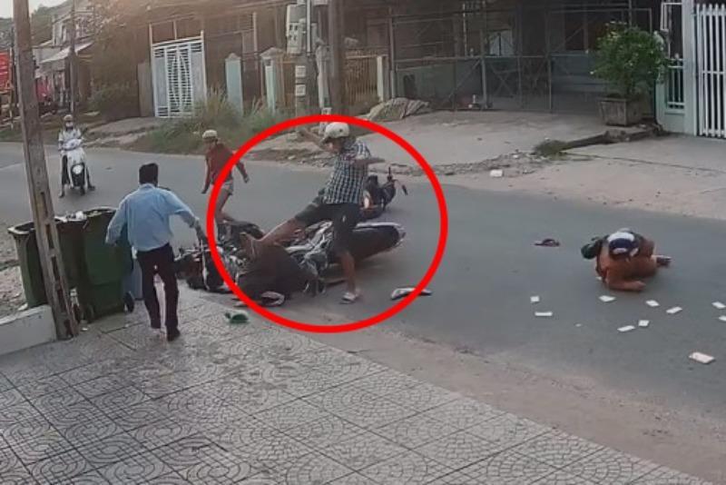 Vụ thanh niên đạp vào đầu, vụt gậy trúng nữ sinh: Chân dung nghi phạm 29 tuổi - Ảnh 2