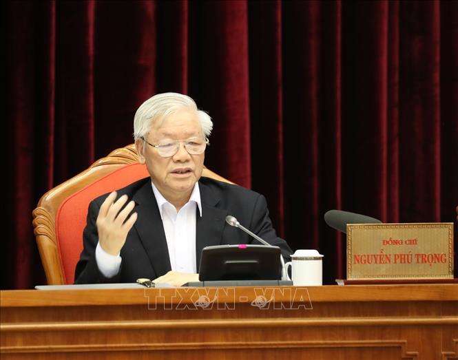 Tổng Bí thư, Chủ tịch nước Nguyễn Phú Trọng chủ trì Hội nghị cán bộ toàn quốc - Ảnh 1