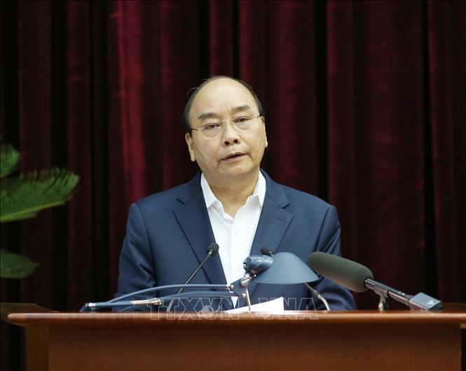 Tổng Bí thư, Chủ tịch nước Nguyễn Phú Trọng chủ trì Hội nghị cán bộ toàn quốc - Ảnh 2