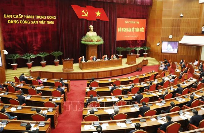 Tổng Bí thư, Chủ tịch nước Nguyễn Phú Trọng chủ trì Hội nghị cán bộ toàn quốc - Ảnh 3