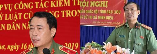 Hai thiếu tướng được bổ nhiệm giữ chức Thứ trưởng bộ Công an - Ảnh 1