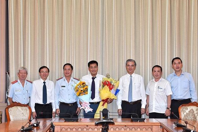 Ông Phạm Văn Nghì được bổ nhiệm giữ chức Phó chánh Thanh tra TP.HCM - Ảnh 1