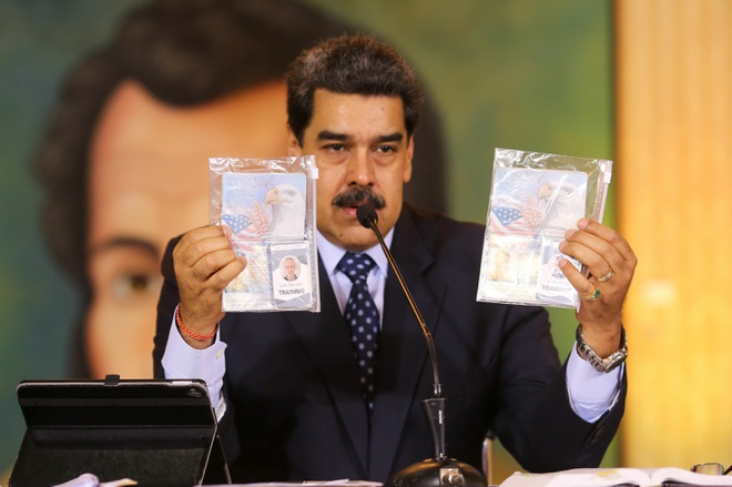 Bắt thêm 39 đối tượng âm mưu ám sát các lãnh đạo Venezuela - Ảnh 1