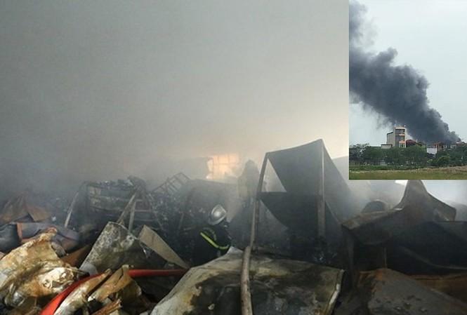 Cháy lớn tại khu công nghiệp Phú Thị, 3 người chết: Danh tính các nạn nhân - Ảnh 1