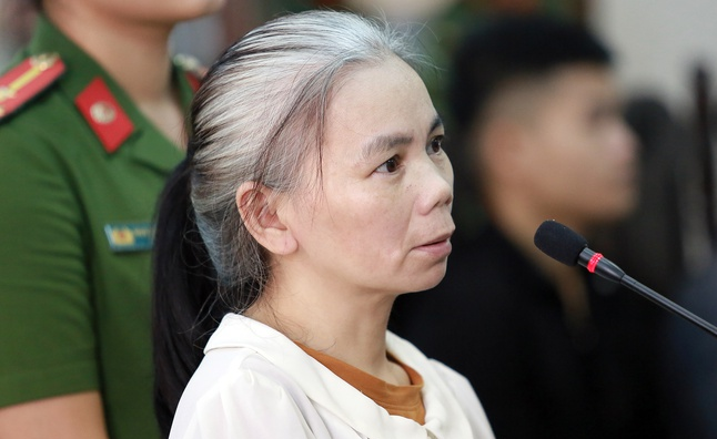 Phúc thẩm vụ sát hại nữ sinh giao gà: Bùi Thị Kim Thu đấm Lường Văn Lả tại tòa - Ảnh 1