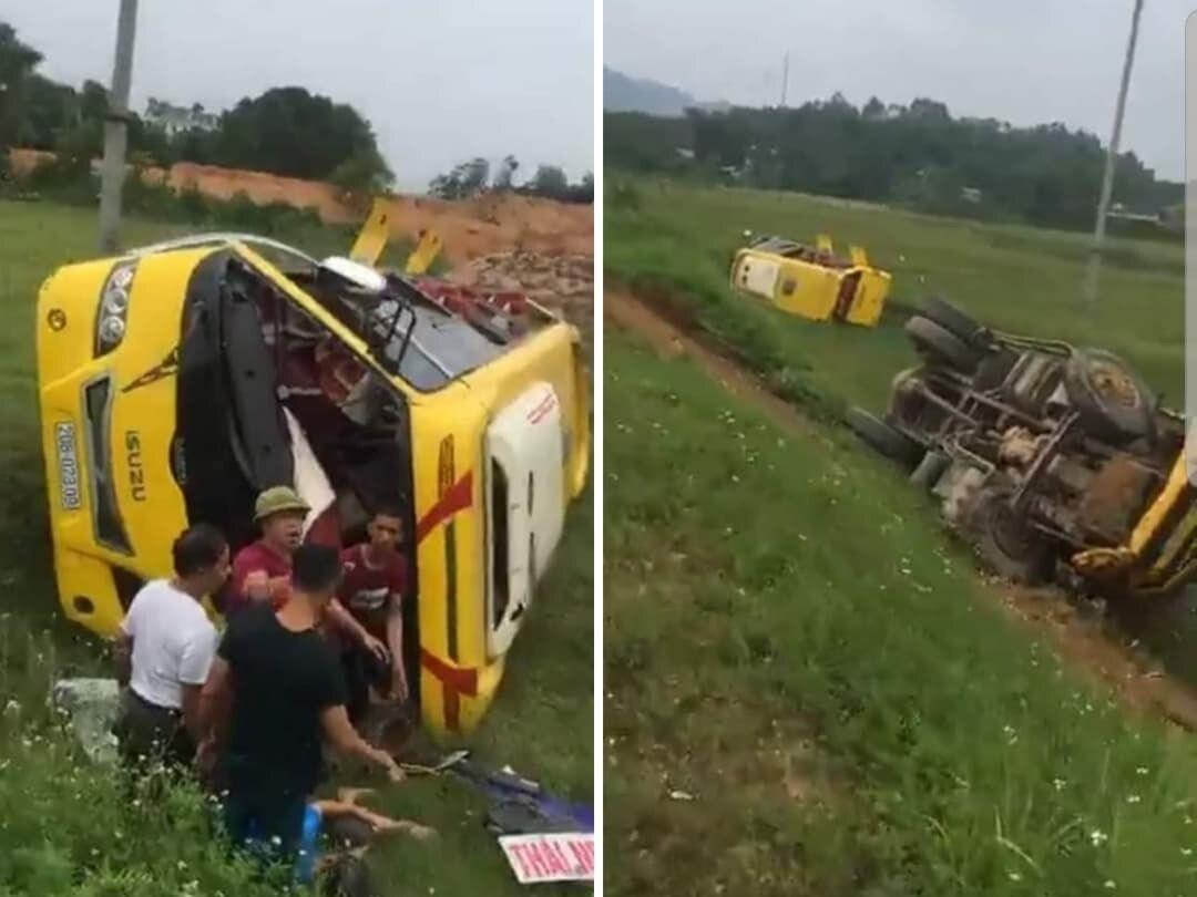 Tin tai nạn giao thông mới nhất ngày 19/6/2020: Lộ nguyên nhân vụ container đè bẹp limousine, 3 người chết - Ảnh 2